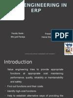 Value Engineering in ERP