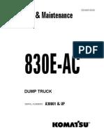 Manual de partes Komatsu 930 SE4
