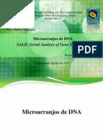Microarranjo DNA e Tecnica SAGE