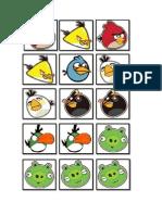 Memorice Angry Birds