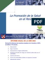 Promoción de La Salud en EL PERU