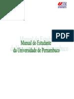 0 Manual Do Estudante Da Universidade de Pernambuco - Upe