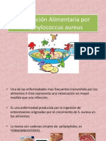 Intoxicación Alimentaria Por Staphylococcus Aureus