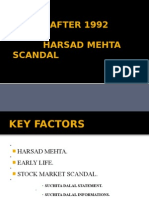 Harsad Mehta Scam