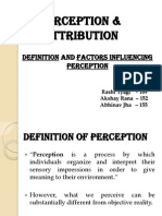 OB Presentation - Perception