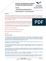 VII OAB 2fase Provaadministrativo