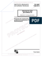 Norma Del Proyecto Arquitectónico PU-UNIT_1208_2012