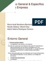 Entorno General de Una Empresa Mediana