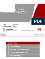 Bakrie SBY EVDO Project RNP Weekly Report W11 (HW) New Tamplate