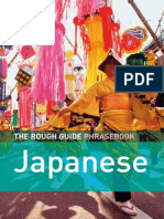 The Rough Phrasebook Japanese Ingles