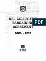 Nfl Collective Bargaining Agreement 2006 - 2012