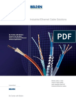 Industrial Ethernet Cable Solutions Brochure