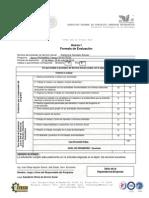 Anexo i Formato de EvaluaciÓn