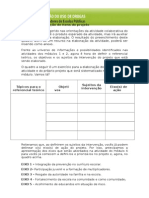 2014 Quadro - Itens Do Projeto - Sexta Edição