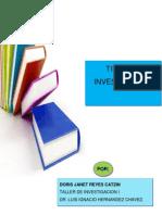 Tipos de Investigación_ Doris Reyes Catzin_ u1_ v Sem