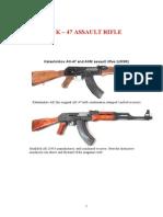 Ak 47 AKM Technical Manual DETAILED
