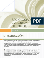 Sociologia y Su Evolución Histórica