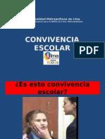 Convivencia Escolar -Lideres Escolares