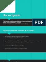 Presentacion Geologia (Rocas Igneas)