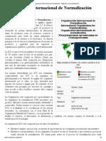 Organización Internacional de Normalización - Wikipedia, La Enciclopedia Libre