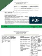Planificación Matemática 2do Año de Bachillerato Año 2013-2014