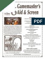 D6 Gamemasters Aid Screen Weg51019e