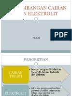 Balance cairan dan elektrolit pada PEB