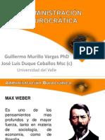 ADMINISTRACIÓN BUROCRÁTICA2013