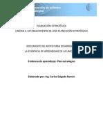 DPES Evidencia 2. Plan Estrategico