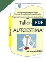 Dossier Taller de Autoestima II