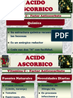 Acido Ascorbico - Acido Folico y Vit b12