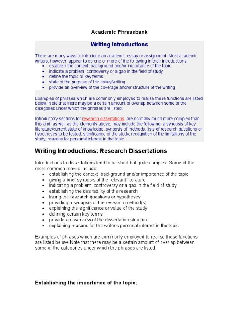dissertation background context Whether it be an essay, dissertation, a videos, a book what is the difference between context and content • definitions of context and content.
