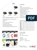 beroNet Small Business Line Gateways Datasheet