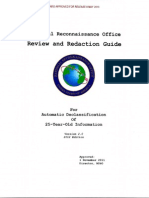National Reconnaissance Office Review and Redaction Guide 2012