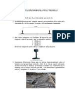 Elementos y Granulometria de Vías Ferreas