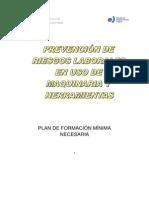96070-Prevención de Riesgos Laborales en Uso de Maquinaria y Herramientas