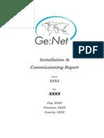 GeNet Install Report Example