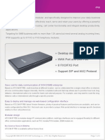ATCOM IP08 IP PBX Appliance Datasheet