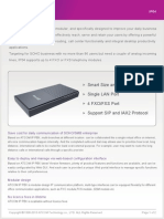 ATCOM IP04 IP PBX Appliance Datasheet