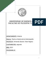 Programa Historiografia 2013