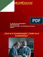 Anestesicos Generales y Locales 2009 Est. Medicina