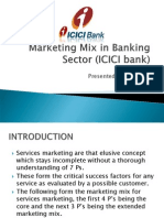 ICICI 7P's