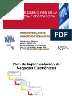 Plan de Diseño Web de La Empresa Exportadora
