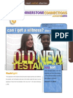 3rd Quarter 2014 Cornerstone Connections Lesson 8