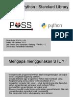 Pelatihan Python Stl