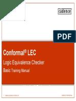 Conformal Lec Training Basic Advance