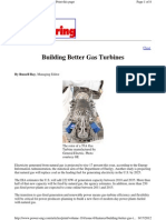 Building Better Gas Turbines