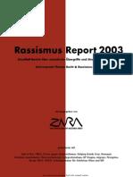 Zara Rassismus Report 2003 - Österreich