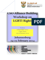 LGBTI Workshop in South Africa Resource Material