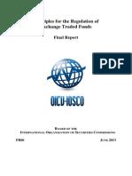 Report on ETF Regulations